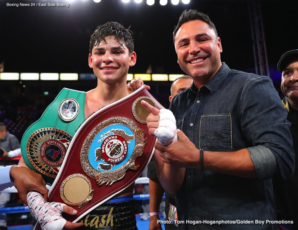 Jayson Velez Ryan Garcia Boxing News Boxing Results Top Stories Boxing