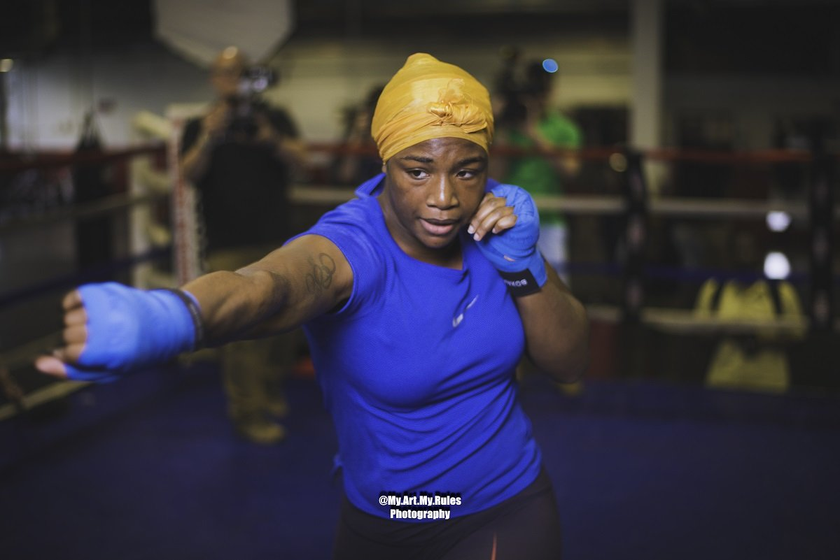 Claressa Shields quotes for Hanna Gabriels fight on June 22