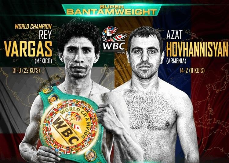 Azat Hovhannisyan, Rey Vargas - GOLDEN BOY PROMOTIONS PRESENTS: