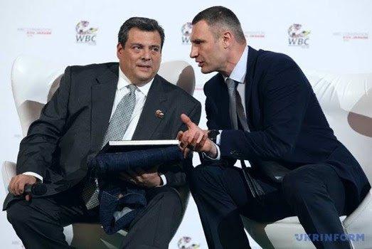 Vitali Klitschko - A DAY WITH THE MAYOR OF KIEV WBC EMERITUS CHAMPION VITALI KLITSCHKO