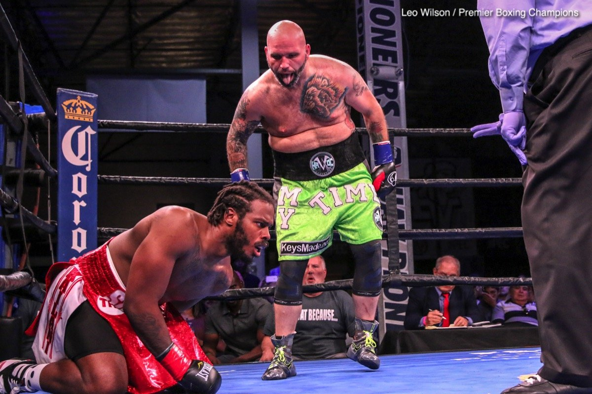 Travis Kauffman Boxing News Boxing Results