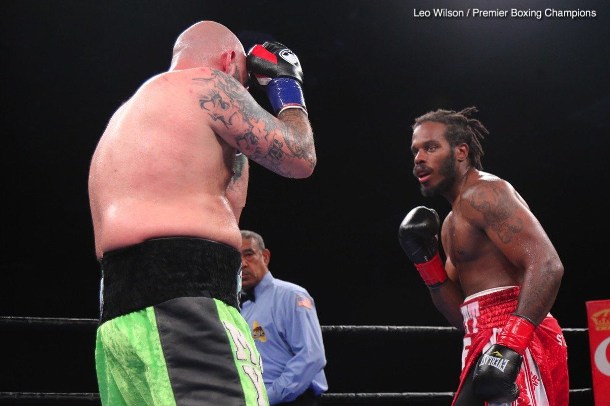 Scott Alexander Travis Kauffman Boxing News Boxing Results