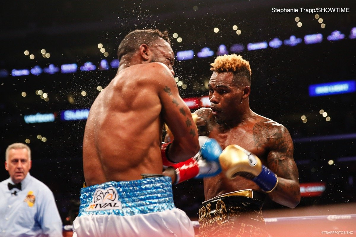 Austin Trout - WBC junior middleweight champion Jermell Charlo (31-0, 15 KOs) took the fight to Austin 'No Doubt' Trout in knocking him down twice en route to beating him by a 12 round majority decision on Saturday night at the Staples Center in Los Angeles, California.