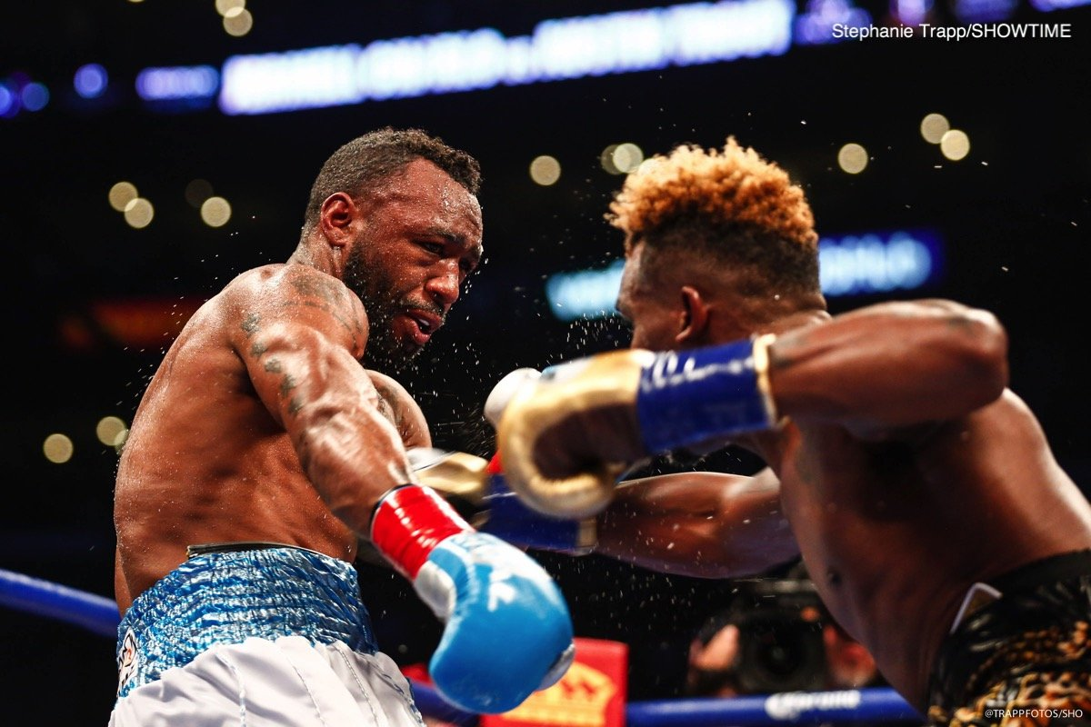 Austin Trout - Jermell Charlo (31-0, 15 KOs) recorded a majority decision victory by outpointing former world champion Austin Trout (31-5, 17 KOs) to defend his WBC Super Welterweight World Championship. Charlo's four-fight knockout streak ended in his third world title defense. Two judges scored it 118-108 and 115-111 in favor of Charlo, and third scored it 113-113.