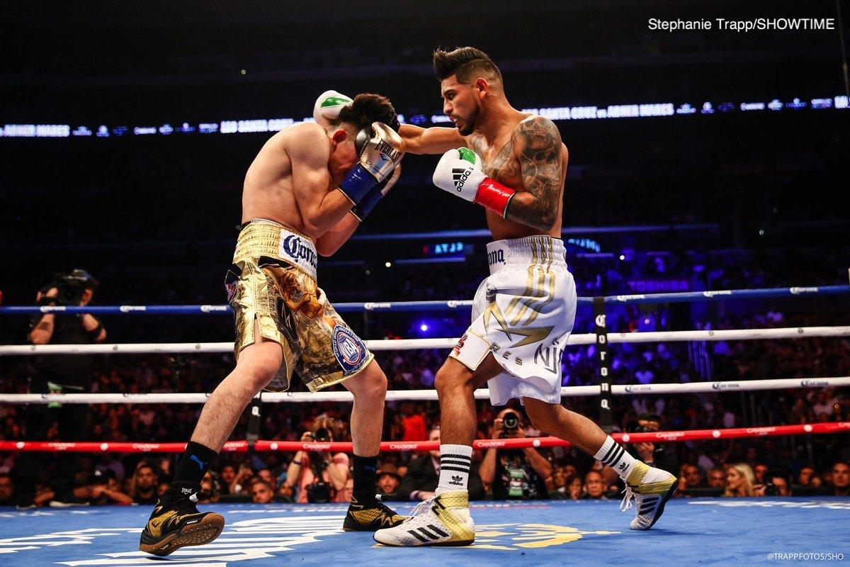 Abner Mares Leo Santa Cruz Boxing News Boxing Results Top Stories Boxing