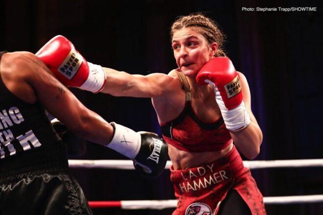 Christina Hammer, Claressa Shields, Hanna Gabriels, Tori Nelson - Boxing News