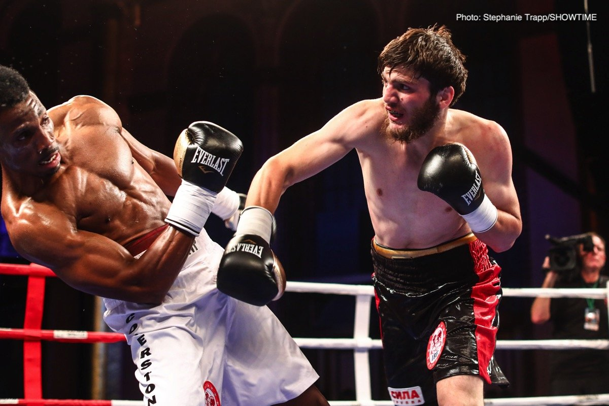 An explosive trio of Salita Promotions fighters will be back in action Thursday, September 19, in Grozny, Russia, as Umar Salamov, Aslambek Idigov and Apti Davtaev will all be featured in important fights.