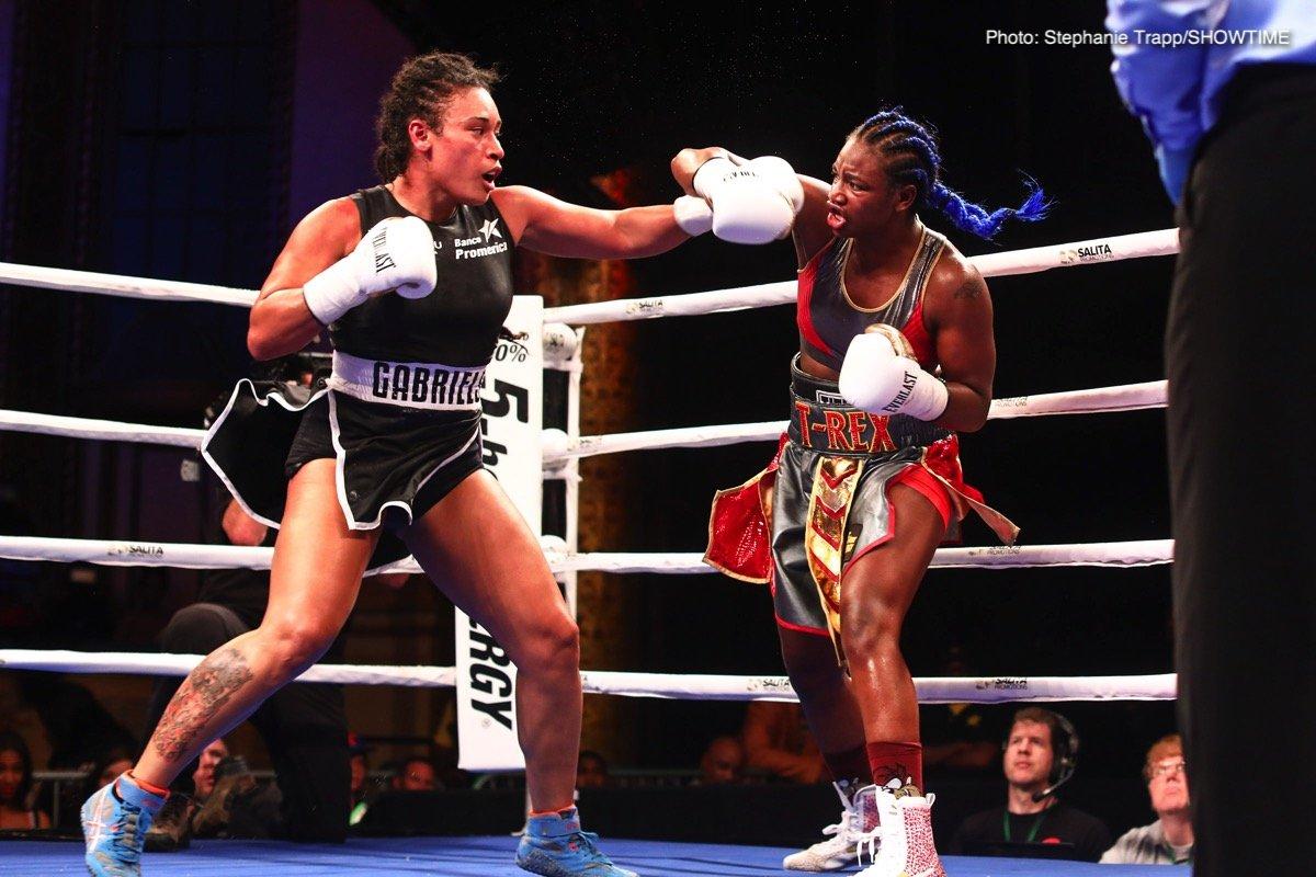 Christina Hammer Claressa Shields Hanna Gabriels Tori Nelson Boxing News Boxing Results Top Stories Boxing