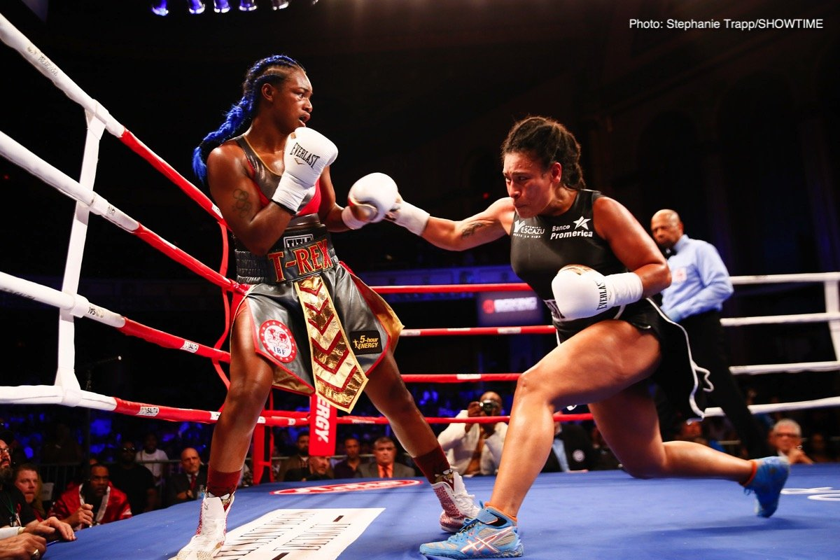 Results: Claressa Shields Wins IBF And WBA  World Titles; Christina Hammer beats Nelson