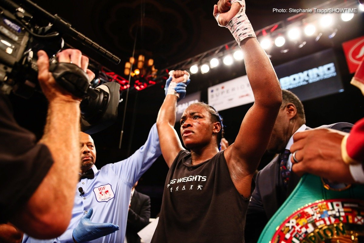 Claressa Shields Press Room