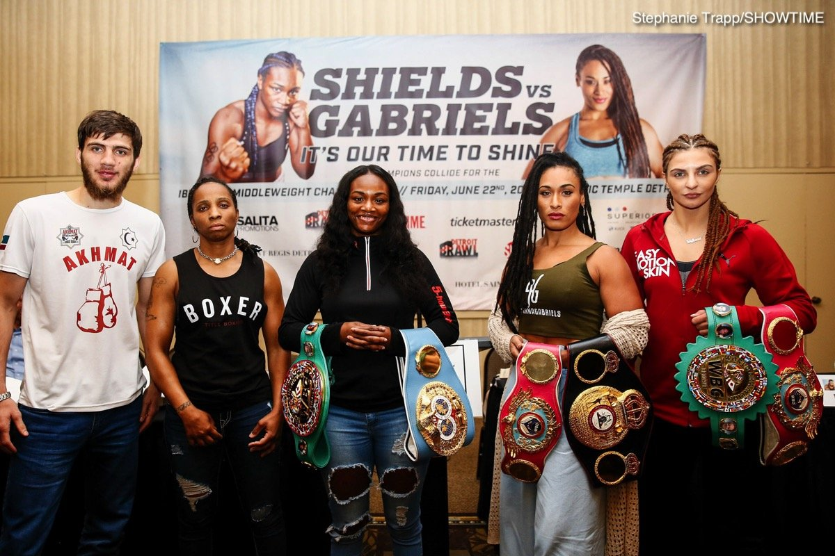 Shields vs. Gabriels / Hammer vs Nelson final quotes
