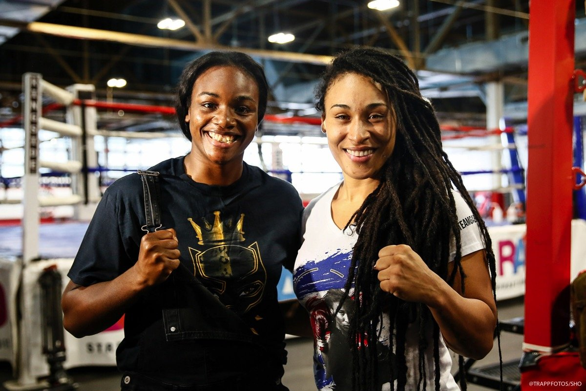 Claressa Shields and Hanna Gabriels final quotes for Friday