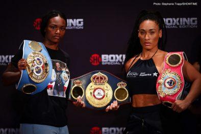 Christina Hammer Claressa Shields Hanna Gabriels Tori Nelson Boxing News