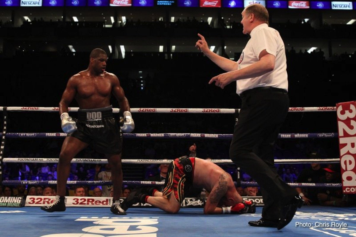 Daniel Dubois Boxing News Boxing Results British Boxing