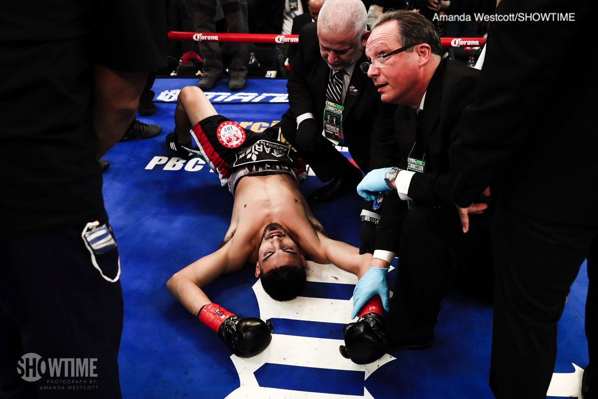 Spence obliterates Ocampo – Results