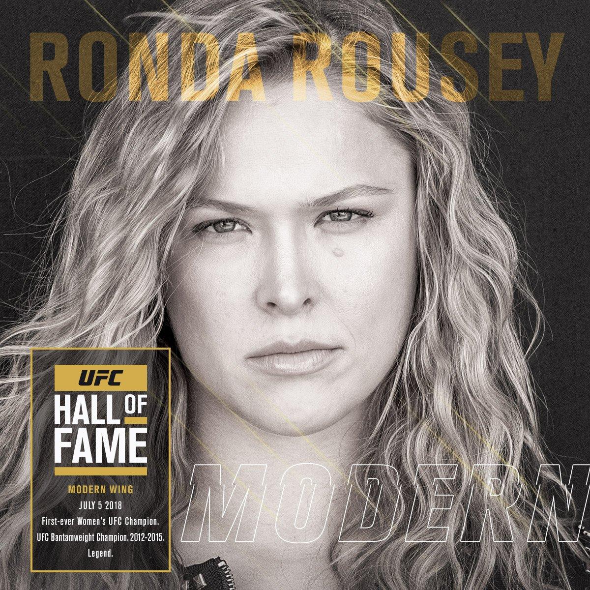 Ronda Rousey MMA News