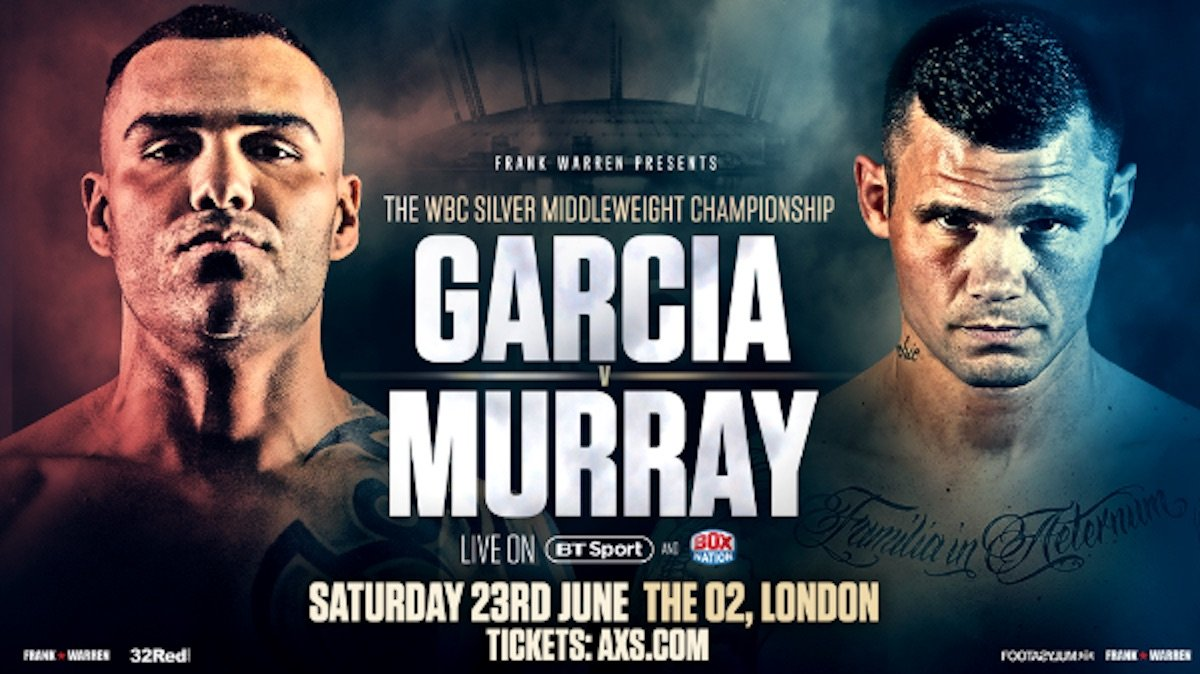 Roberto Garcia - PROMOTER Frank Warren today held the final press conference ahead of Saturday's o2 Arena show topped topped by Roberto Garcia's WBC Silver Middleweight Title defence against Martin Murray.
