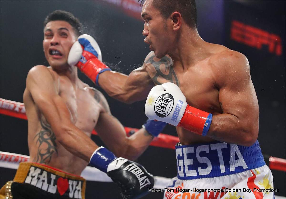 Mercito Gesta Boxing News Boxing Results