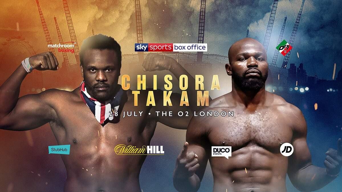 Dereck Chisora vs Carlos Takam: Who Wins?