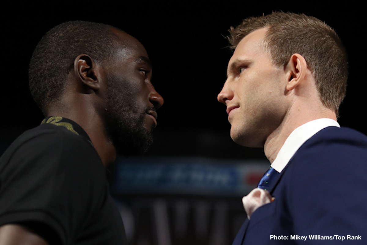 Jeff Horn Terence Crawford Boxing News Top Stories Boxing