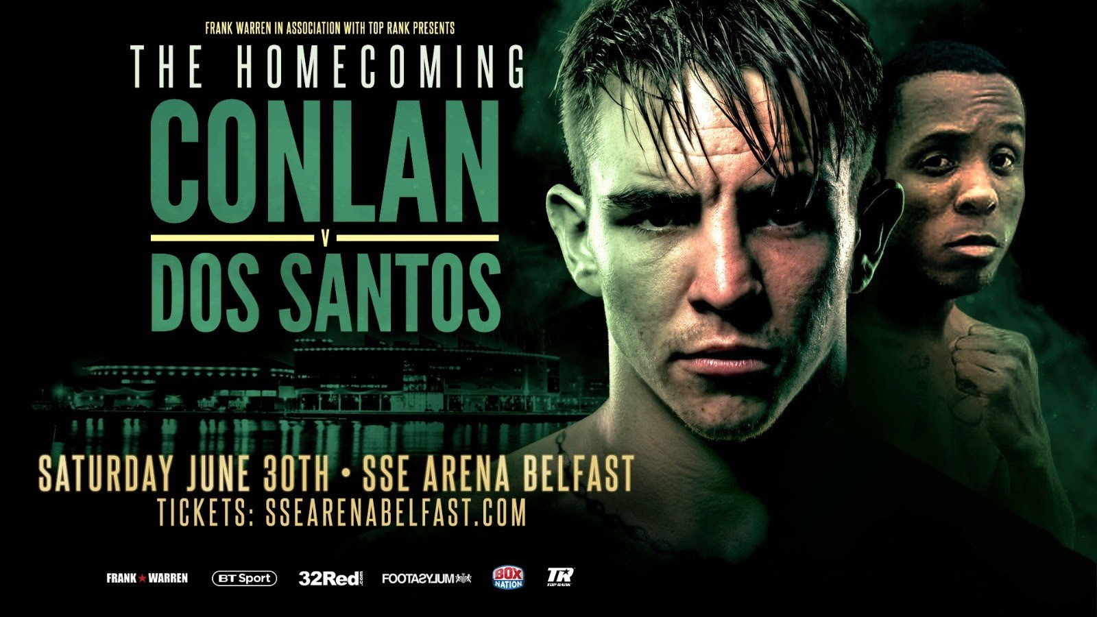 Michael Conlan - The final press conference for Featherweight Michael Conlan's homecoming bout against  Brazilian Adeilson Dos Santos ahead of Saturday's fight at Belfast's SSE Arena was held today.