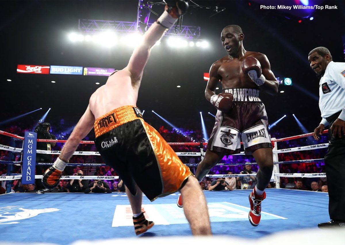 Terence Crawford Wants All The Gold At Welterweight, and he might just get it