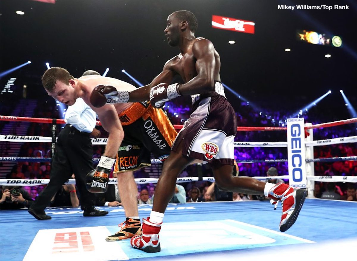 Results: Terence Crawford stops Jeff Horn, wins WBO 147lb title