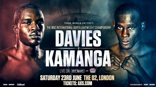 Ohara Davies Paul Kamanga Press Room