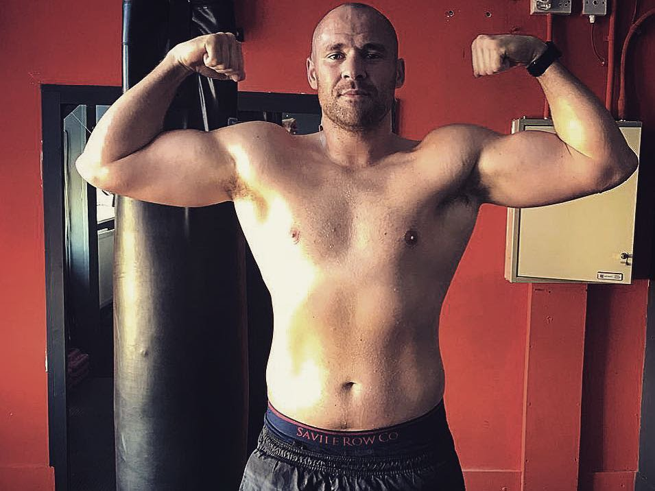 Alex Dickinson David Howe Sefer Seferi Tyson Fury British Boxing Press Room