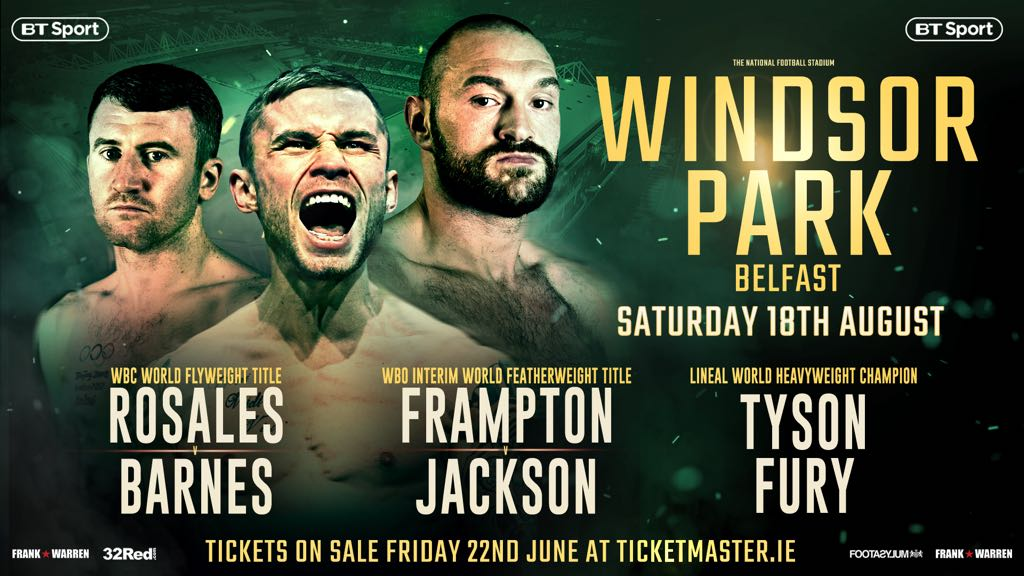 Carl Frampton Luke Jackson Boxing News