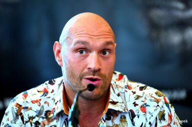 Sefer Seferi Tyson Fury Boxing News British Boxing