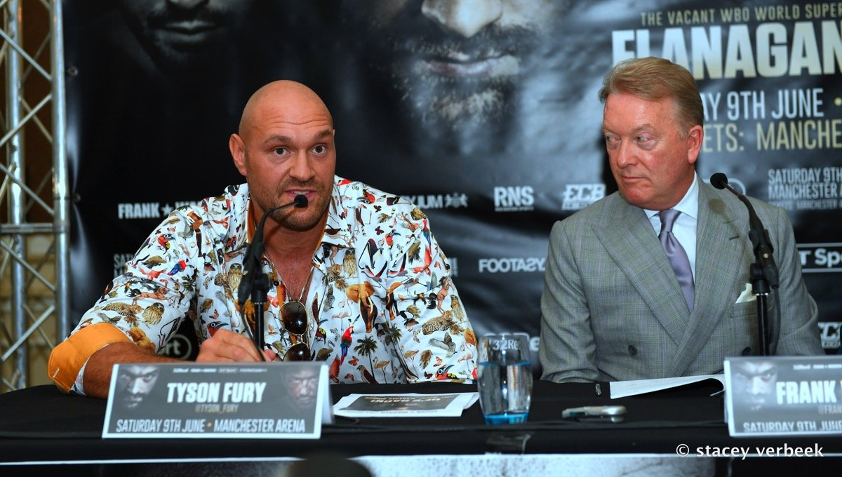 Sefer Seferi Tyson Fury Boxing News British Boxing Top Stories Boxing