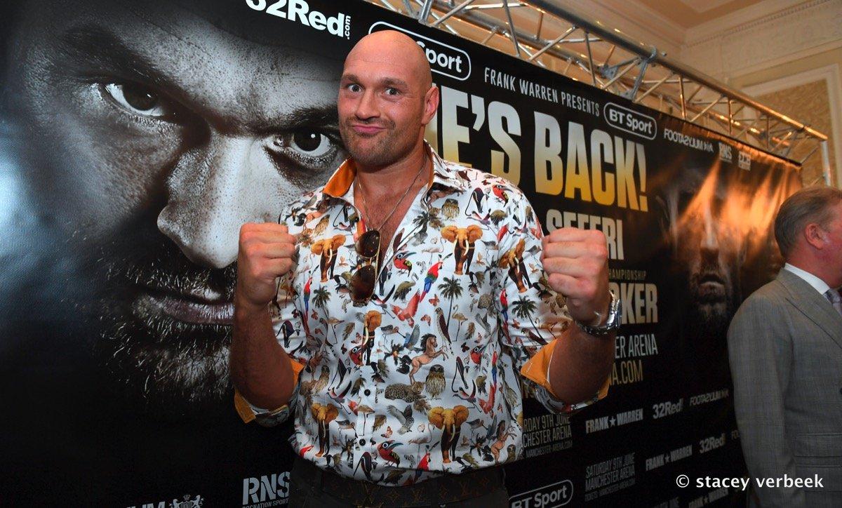 Sefer Seferi Tyson Fury Boxing News British Boxing