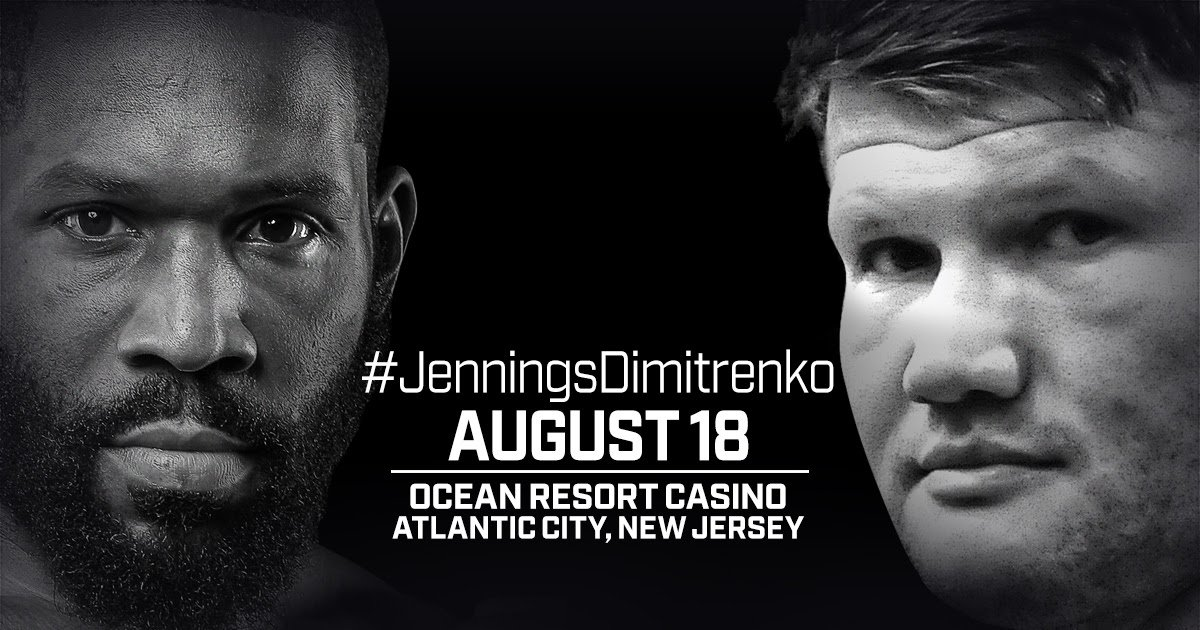 "Alexander Dimitrenko, Bryant Jennings - Heavyweight contender Bryant ""B.Y."" Jennings was born and bred in Philadelphia, but on Saturday, August 18, he aims to bring some of that Philly firepower to the Atlantic City Boardwalk."