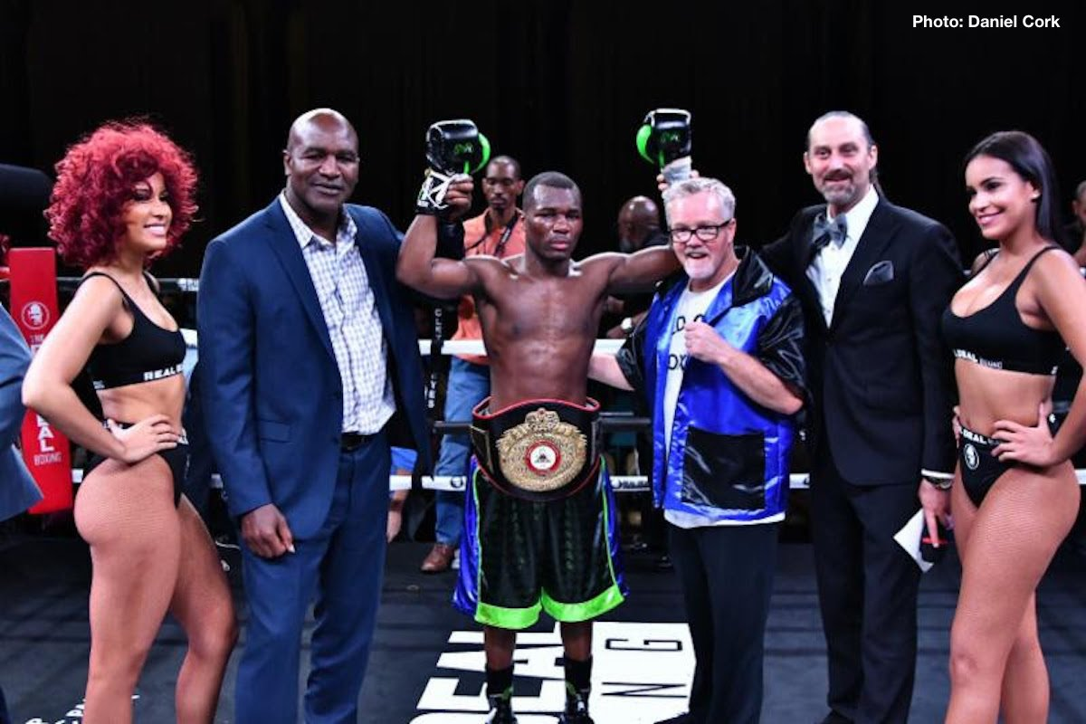 Toka Kahn Clary on the verge of a world title shot