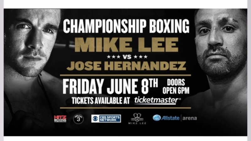 Mike Lee - WBO number-3 ranked light heavyweight contender Mike Lee Broke his rib in the 1st round, but still claimed the NABO Light Heavyweight title with a 10-round unanimous decision over Jose Hernandez at the Allstate Arena in Rosemont, Illinois.