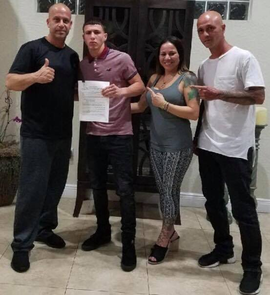 Luis Melendez signs with Rivalta