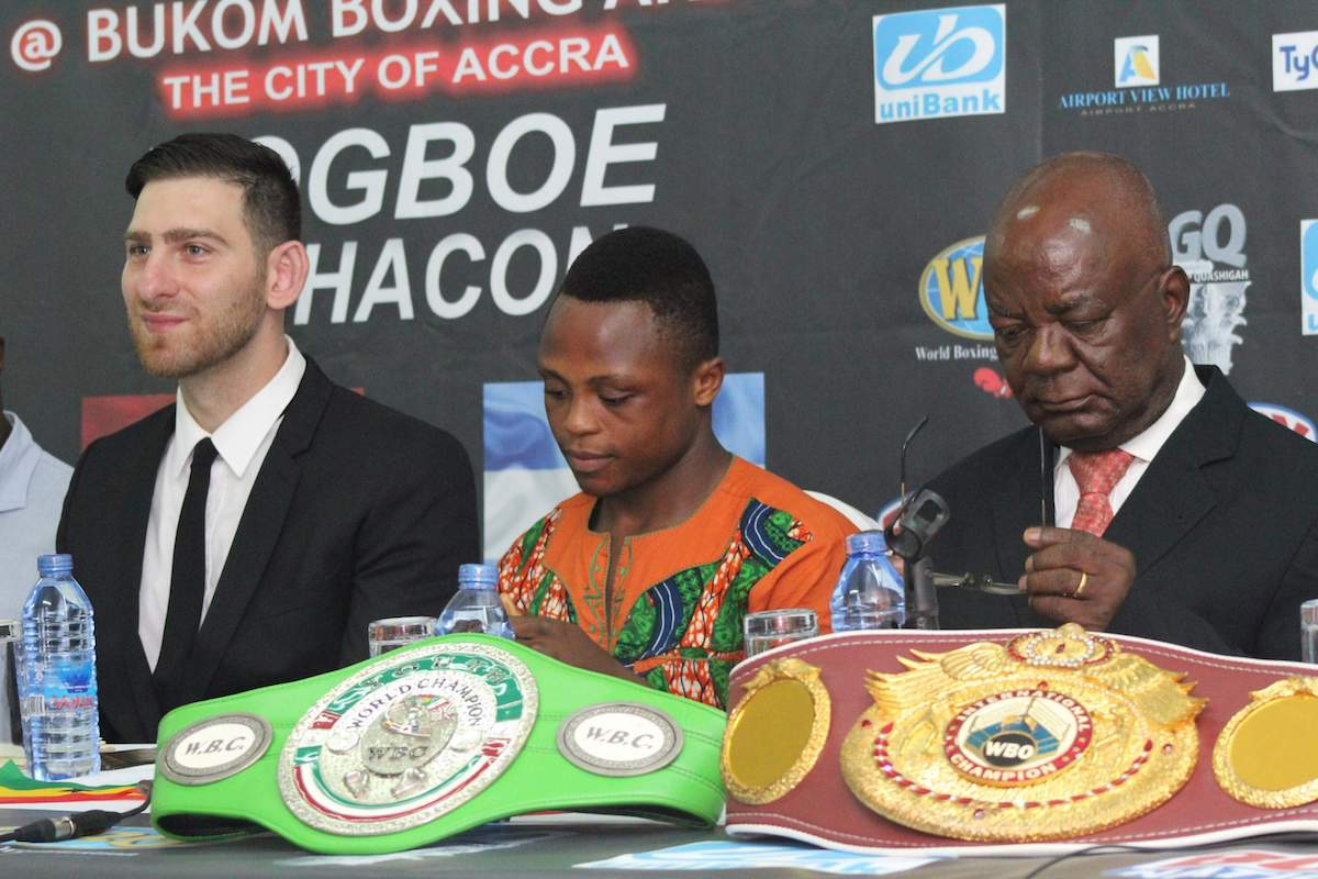 Ghanaian prophet predicted Dogboe will win world title and make me famous- Altamura