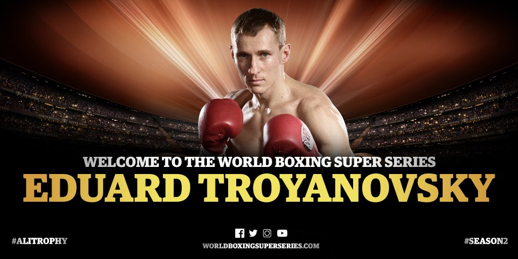 Ivan Baranchyk - Troyanovsky ready to compete for WBA World Title and Ali Trophy.