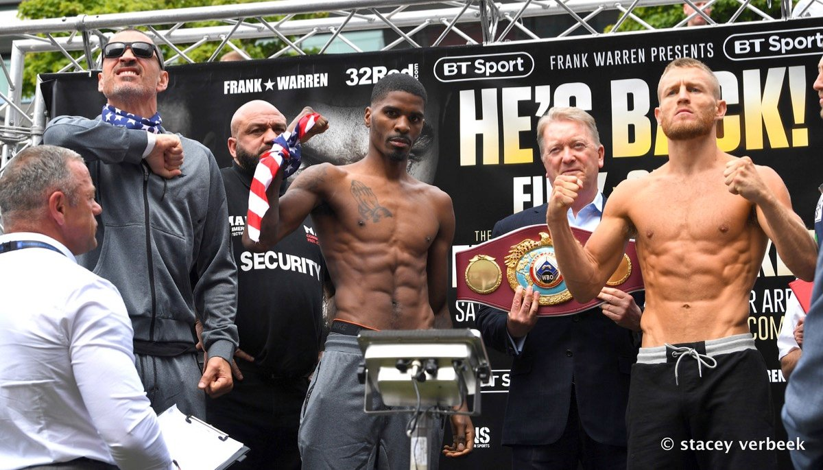 Maurice Hooker, Terry Flanagan - There is a world title title fight happening this weekend which is perhaps the main event or the undercard, depending on your point of view.