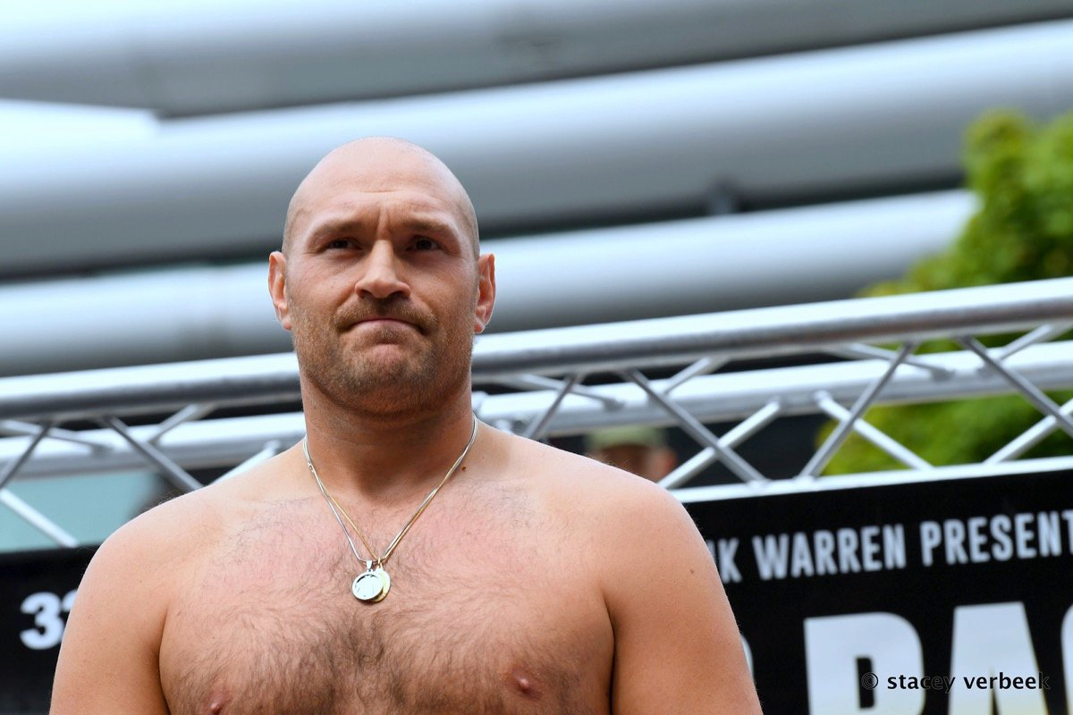 Tyson Fury Boxing News British Boxing