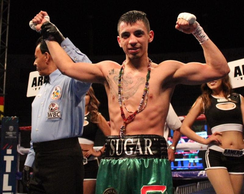 "-  Unbeaten super-flyweight prospect, Damien ""Sugar"" Vazquez (14-0, 7 KOs), who recently captured the WBC Youth title in his last bout against Luis Golindano (9-1, 6 KOs), is looking to take his career to the next level."