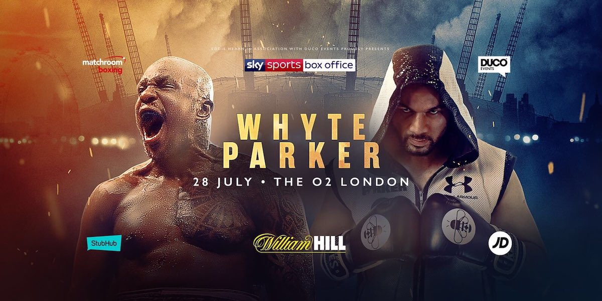 Dillian Whyte Joseph Parker Boxing News British Boxing Top Stories Boxing