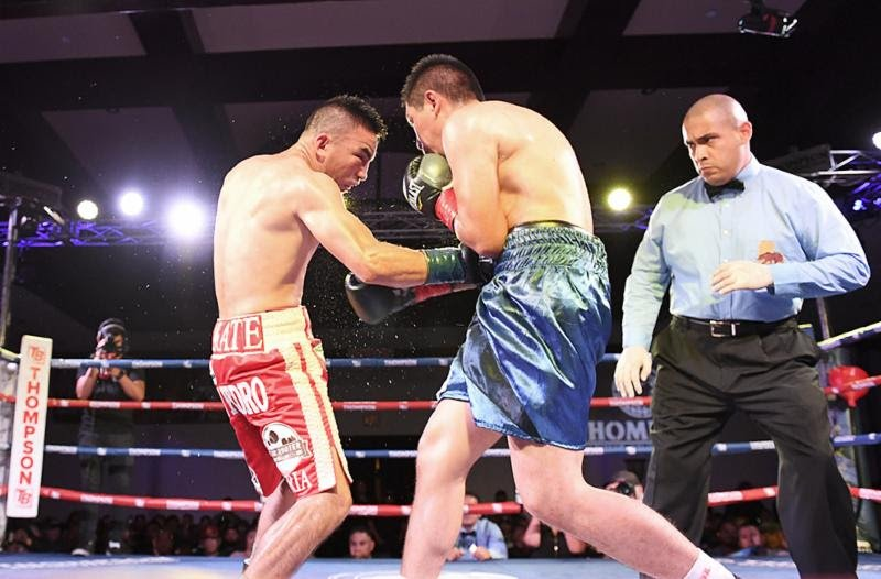 Isaac Zarate Ramiro Robles Boxing News Boxing Results