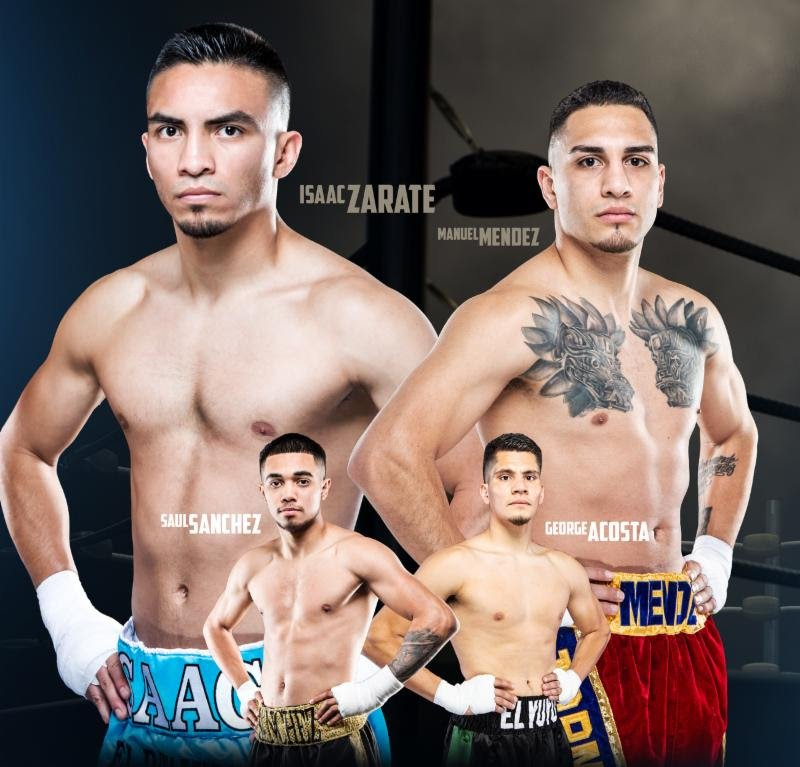 Isaac Zarate vs. Ramiro Robles – Weights