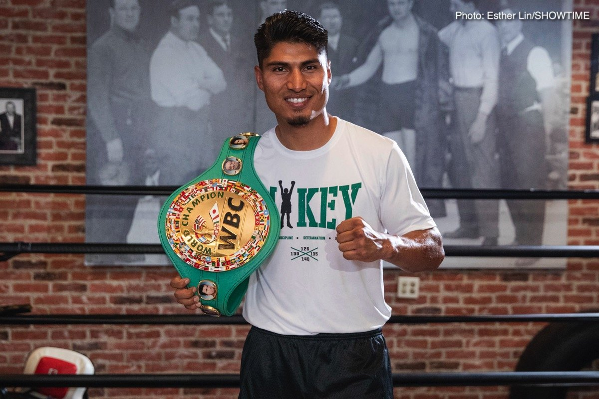 Mikey Garcia Robert Easter Jr. Press Room