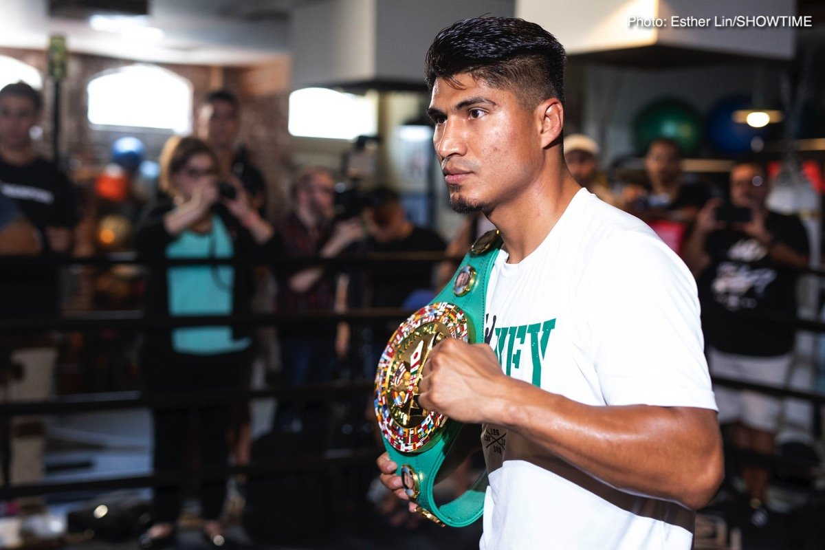 Quotes: Mikey Garcia talks Robert Easter Jr. fight