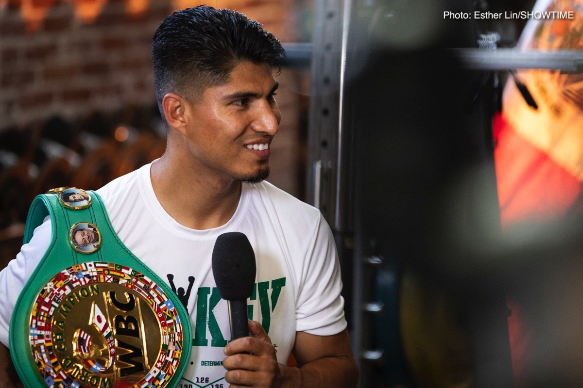 Errol Spence Mikey Garcia Robert Easter Jr. Boxing News