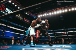 Jaron Ennis continued his knock out streak in impressive fashion in his ShoBox: The New Generation debut on Friday night as the highly-touted prospect from Philadelphia scored a third-round TKO against previously unbeaten Armando Alvarez in an exciting night of fights from WinnaVegas Casino.