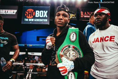 Jaron Ennis Boxing News Boxing Results